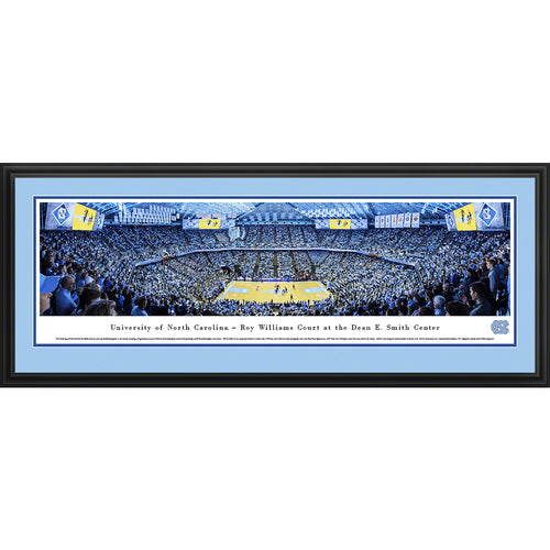 University of North Carolina Tar Heels Basketball - Deluxe Frame
