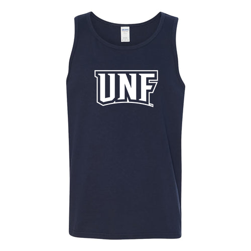 University of North Florida Ospreys Basic Block Tank Top - Navy
