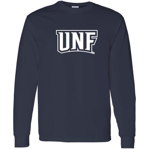 University of North Florida Ospreys Basic Block Long Sleeve T-Shirt - Navy