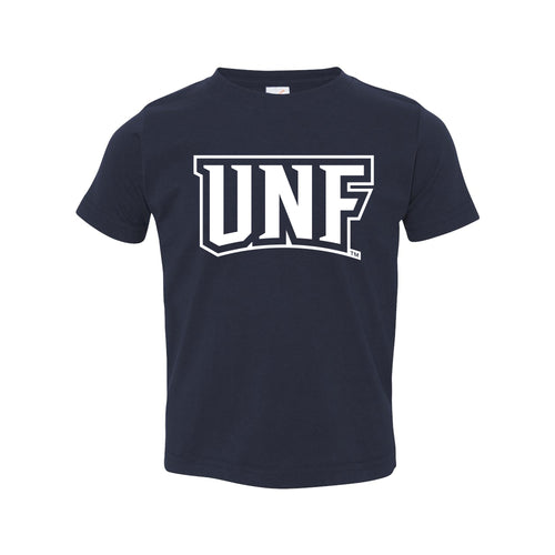 University of North Florida Ospreys Basic Block Toddler Short Sleeve T Shirt - Navy