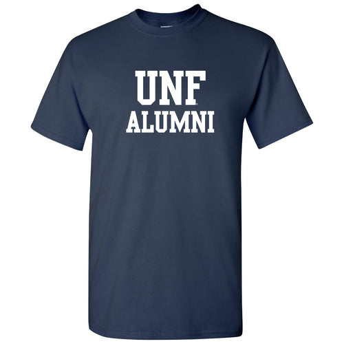 University of North Florida Ospreys Alumni Block Short Sleeve T Shirt - Navy