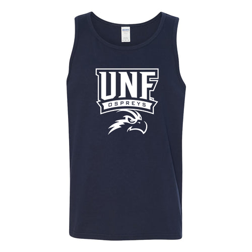 University of North Florida Ospreys Arch Logo Tank Top - Navy