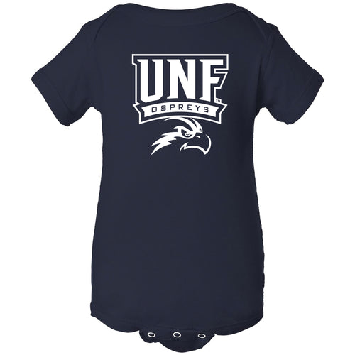 University of North Florida Ospreys Arch Logo Creeper - Navy