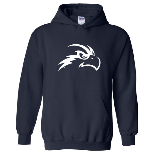 University of North Florida Ospreys Primary Logo Heavy Blend Hoodie - Navy