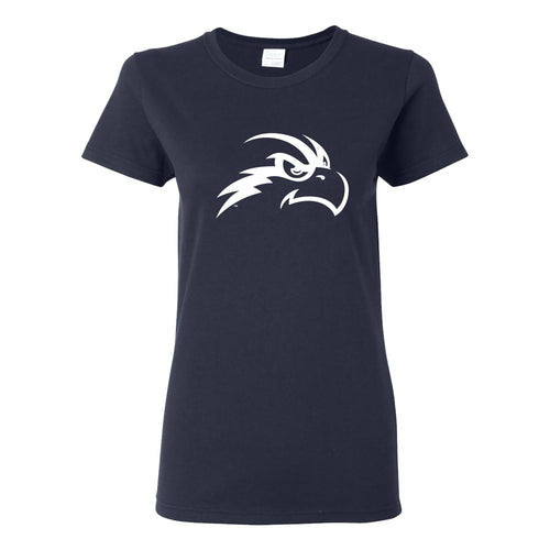 University of North Florida Ospreys Primary Logo Womens Short Sleeve T Shirt - Navy
