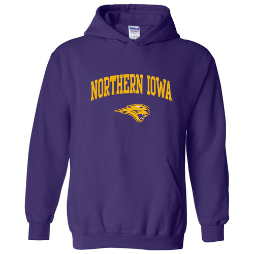 University of Northern Iowa Panthers Arch Logo Hoodie - Purple