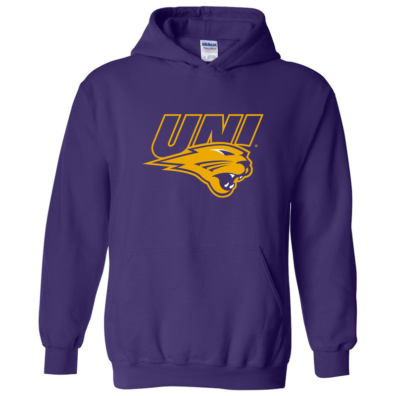 University of Northern Iowa Panthers Primary Logo Hoodie - Purple
