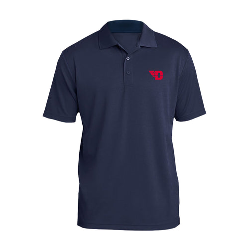 University of Dayton Flyers Primary Logo Polo - Navy