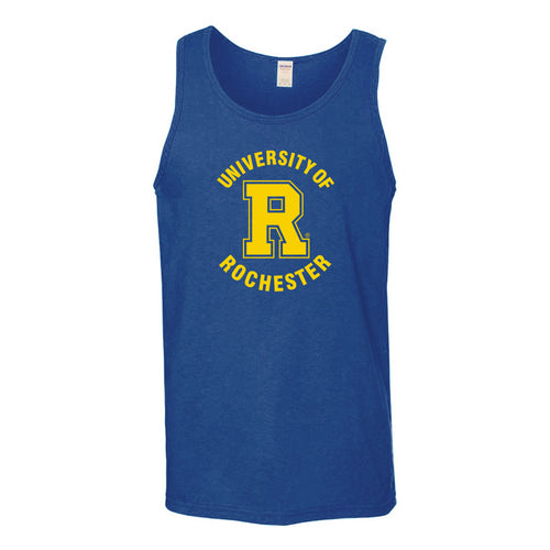 University of Rochester Yellowjackets Arch Logo Tank Top - Royal