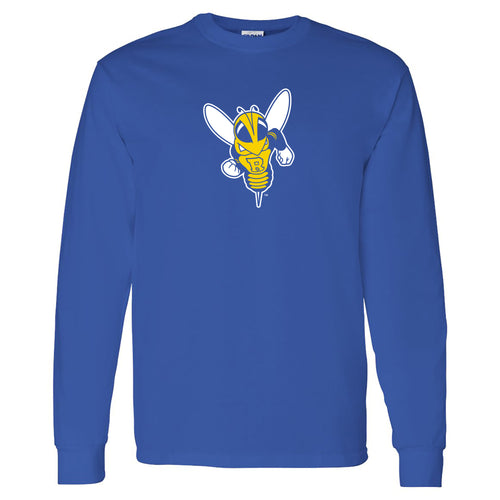 University of Rochester Yellojackets Primary Logo Long Sleeve T-Shirt - Royal