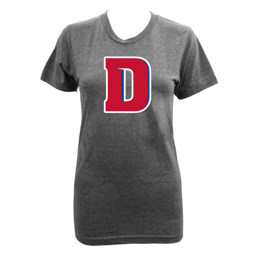 University of Detroit Mercy Primary D Ladies - Athletic Grey