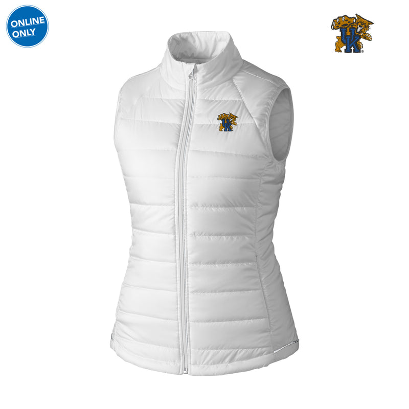 UK Cutter & Buck Women's Post Alley Vest - White