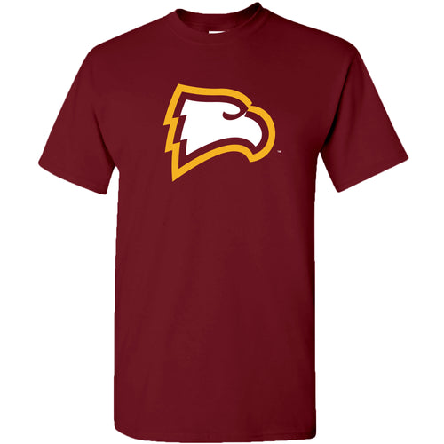 Winthrop University Eagles Primary Logo Short Sleeve T Shirt - Garnet