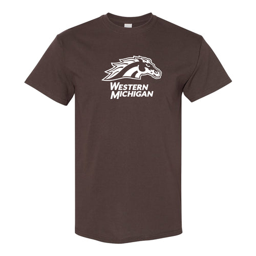 Western Michigan Primary Logo - Dark Chocolate
