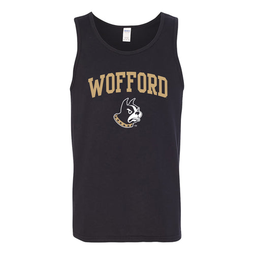 Wofford College Terriers Arch Logo Tank Top - Black