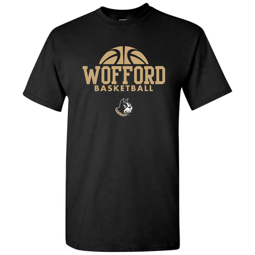 Wofford College Terriers Basketball Hype T Shirt - Black