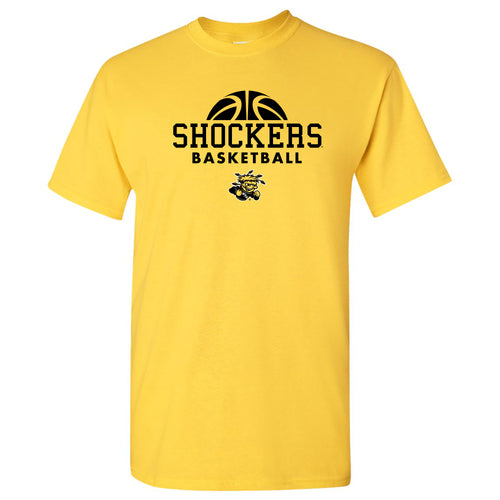 Wichita State University Shockers Basketball Hype Short Sleeve T Shirt - Daisy