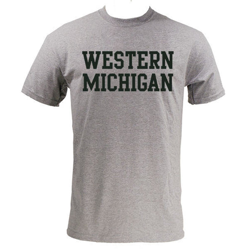 Block Western Michigan - Grey