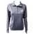 Block M Emb Ladies Stretch 1/4 Zip - H. Navy