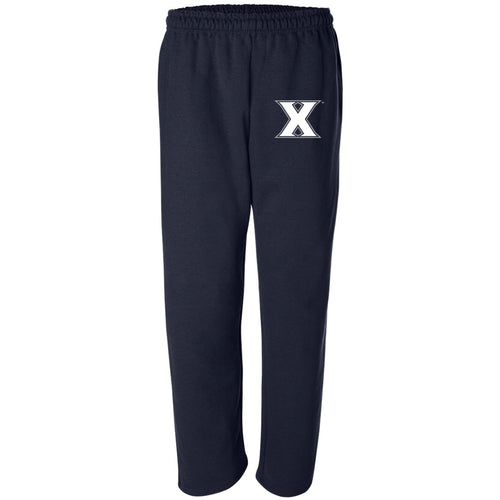 Xavier Primary Logo Sweatpants - Navy
