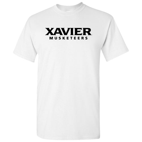 Xavier Musketeers Wordmark - White