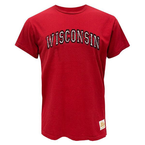 UW Retro Brand Arch WI18K S/S Tee - Red