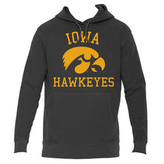 Iowa Hawkeyes French Terry Hood - Black