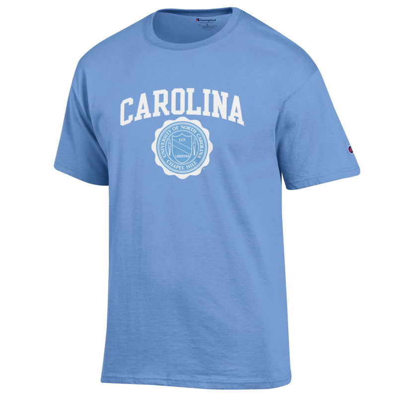 University of North Carolina Seal Tee - Light Blue