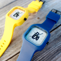 Bo Sig Silicone Sport Watch - Navy
