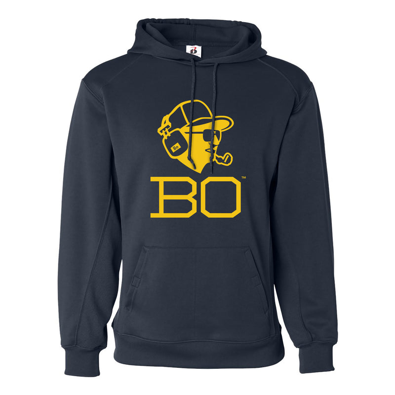 Bo Headset Badger Performance Fleece Hoodie - Navy