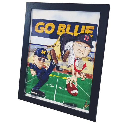 Bo Cartoon Framed Picture - Multi