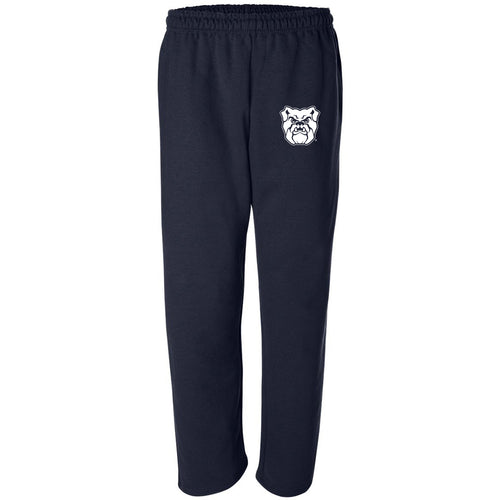 Butler University Bulldog Logo Sweatpants - Navy