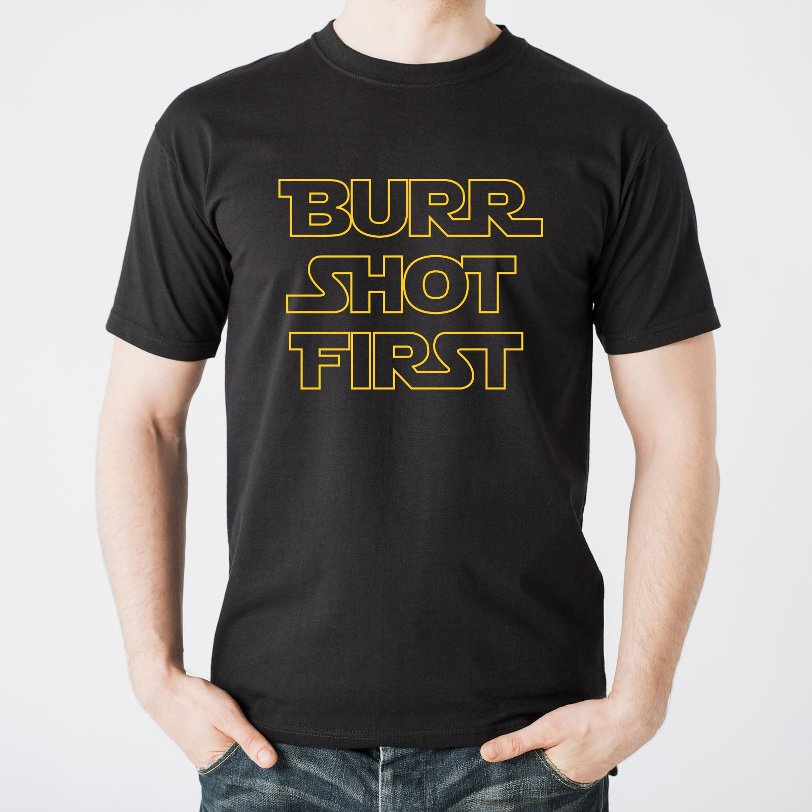 c84ecdbb ... Burr Shot First - Alexander Hamilton Musical Funny Adult History Quote  America Cotton T-Shirt ...