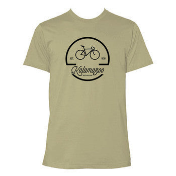 Kalamazoo Bike Logo - Light Olive