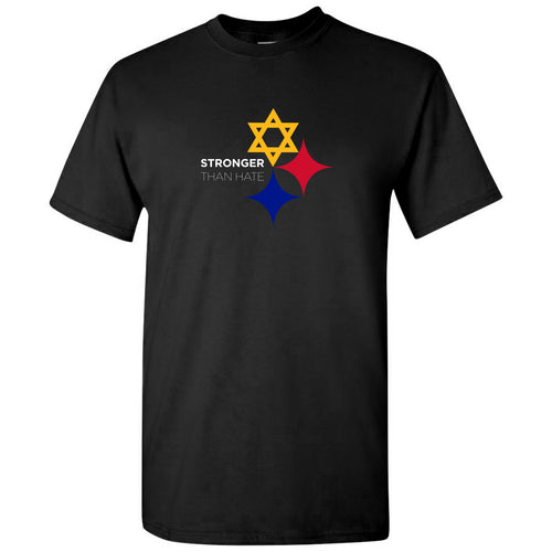 Stronger than Hate Plus Sizes Tee - Black
