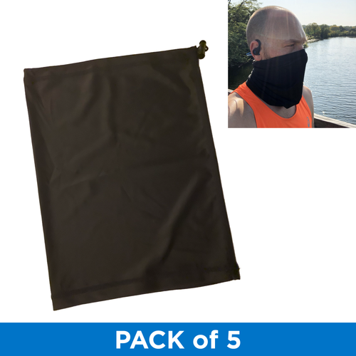 UGP Adjustable Performance Gaiter - 5 Pack - Black