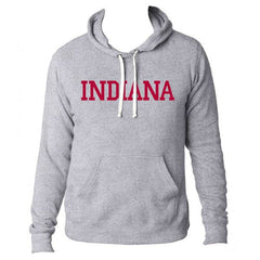 Indiana Triblend Pullover Hood - Grey