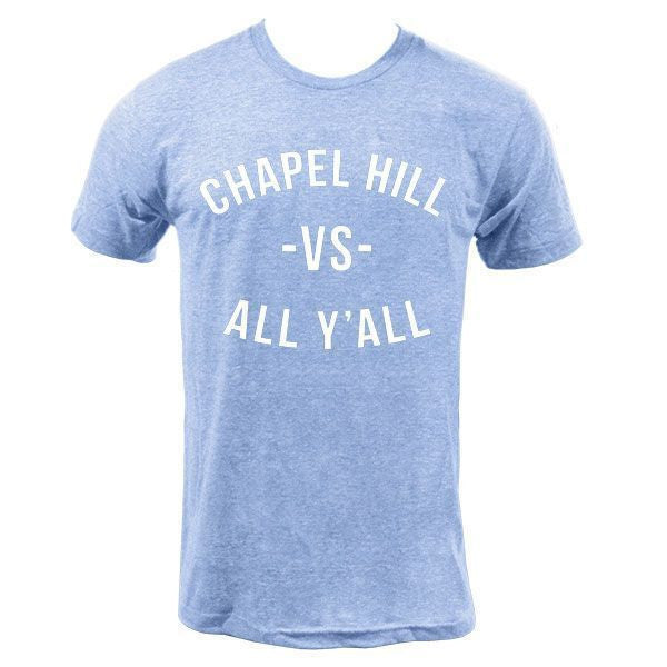 Chapel Hill VS All Y'all Tee - Athletic Blue