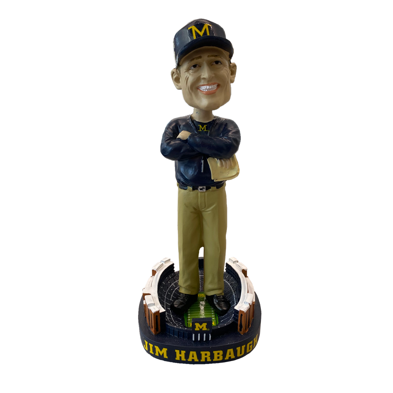 Jim Harbaugh Bobblehead - Limited Edition