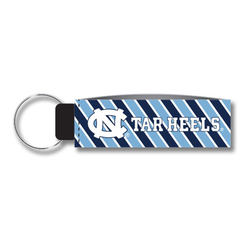 North Carolina Wristlet Keychain – Stripes