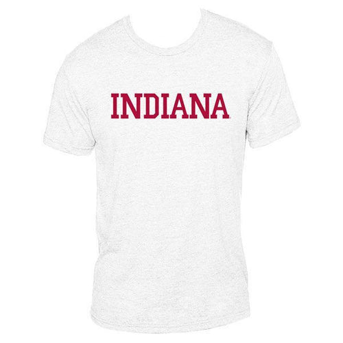 Block Indiana Next Level Apparel - Heather White