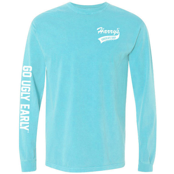 Harrys Go Ugly Long Sleeve - Lagoon Blue