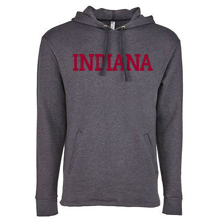 Block Indiana Triblend Hood - Heather Black