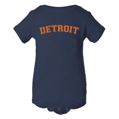 Detroit Orange Creeper - Navy