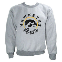 Iowa Synced Inside Out Crew - Sport Grey