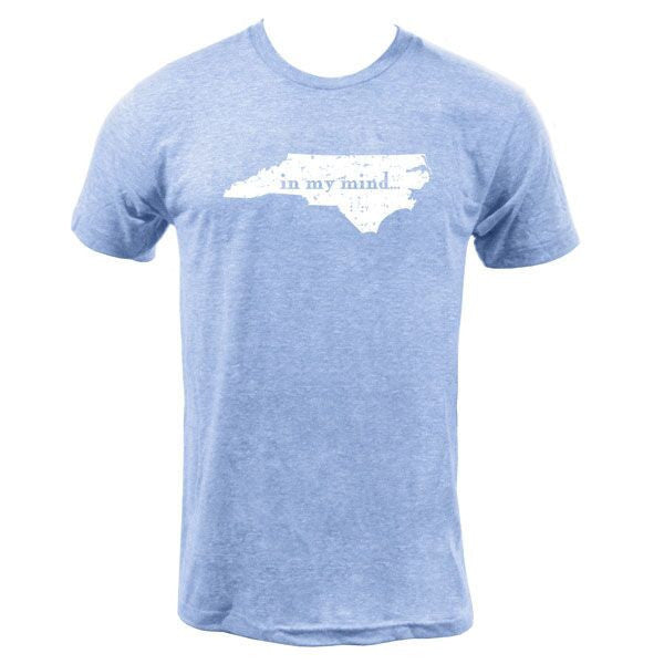 Carolina In My Mind Triblend - Athletic Blue