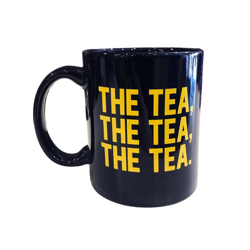 The Tea, The Tea, The Tea Mug - Navy