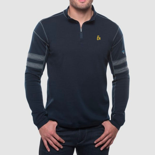Bo Sig KÜHL Team 1/4-Zip - Pirate Blue