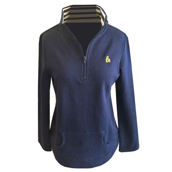 GC BO Sig LC 1/4 Zip Fleece - Navy