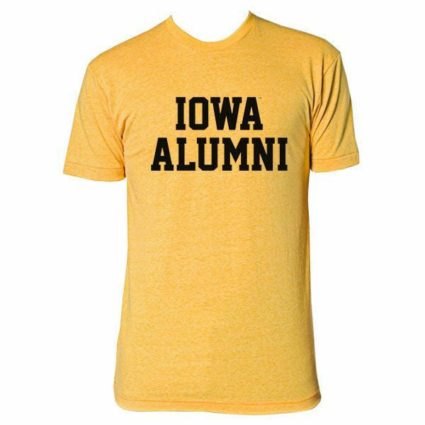 Iowa Alumni Tee - Gold